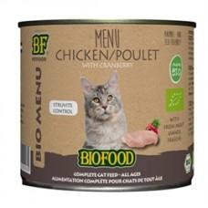 Biofood Organic Kip menu blik 200 gr