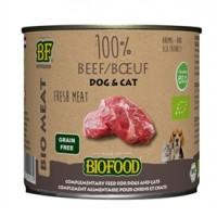 Biofood Organic 100% Rund blik 200 gr