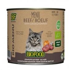 Biofood Organic Rund menu blik 200 gr
