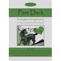 Keetjes Geperste brok Pure Duck 7 kg