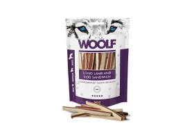 Woolf- Long Lamb and cod sandwich 100 g