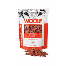 Woolf- Salmon Chunkies 100 g