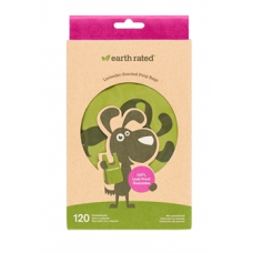 Earth Rated Poepzakjes met handvaten lavendel 120 stuks
