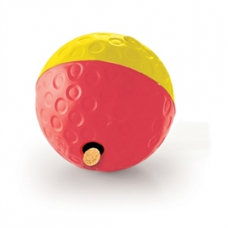 Nina Ottosson Dog Treat Tumble rood/ geel 13 x 13 x 13 cm