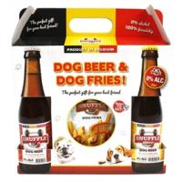 Snuffle Gift box Hondenbier en frietjes