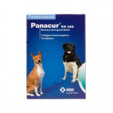 Panacur 500 mg H/K 10 tabletten